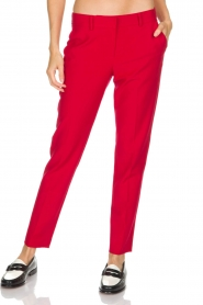 Atos Lombardini | Pantalon Brandy | rood  | Afbeelding 2