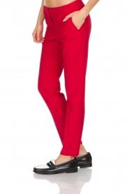Atos Lombardini | Pantalon Brandy | rood  | Afbeelding 4