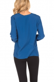 Atos Lombardini | Blouse Cloudy | blauw  | Afbeelding 4