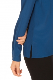 Atos Lombardini | Blouse Cloudy | blauw  | Afbeelding 5