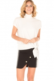 Atos Lombardini |  Skirt Given | black/white  | Picture 2