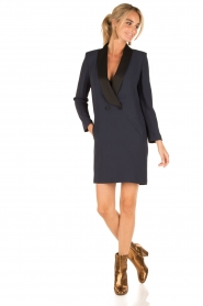 Atos Lombardini |  Dress Wendy | blue  | Picture 3