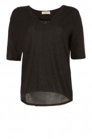 ba&sh | T-shirt Naska | grijs  | Afbeelding 1