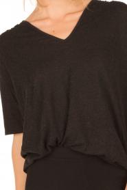 ba&sh | T-shirt Naska | grijs  | Afbeelding 6