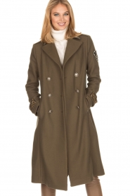 MASONS |  Coat Godivia | green  | Picture 2