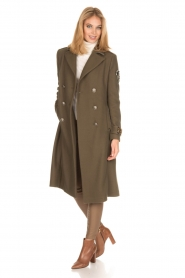 MASONS |  Coat Godivia | green  | Picture 3