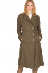 MASONS |  Coat Godivia | green  | Picture 6