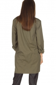MASONS |  Tunic blouse Sofia | green  | Picture 5
