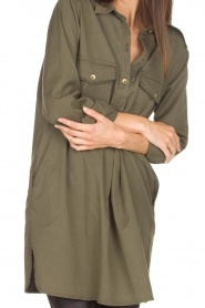 MASONS |  Tunic blouse Sofia | green  | Picture 6