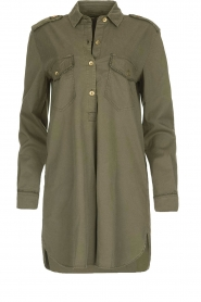MASONS |  Tunic blouse Sofia | green  | Picture 1
