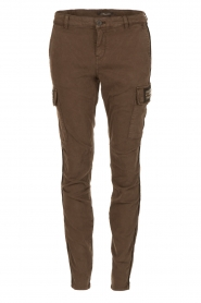 MASONS |  Chino pants Adinda | green  | Picture 1