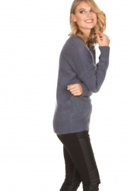 Aaiko |  Sweater Marien | purple  | Picture 4
