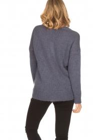 Aaiko |  Sweater Marien | purple  | Picture 5