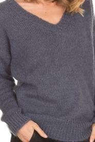 Aaiko |  Sweater Marien | purple  | Picture 6