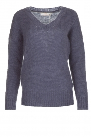 Aaiko |  Sweater Marien | purple  | Picture 1