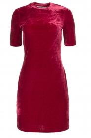 Aaiko | Velvet jurk Liane | rood  | Afbeelding 1