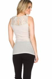 Hanro |  Top with lace Lillian | nude  | Picture 4