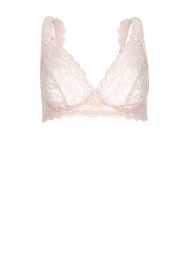 Hanro |  Lace soft bra cup Moments | pink  | Picture 1