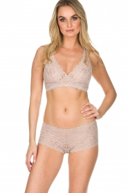 Hanro |  Lace soft bra cup Moments | pink  | Picture 2