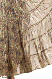 Mes Demoiselles |  Silk skirt Camelia | multi  | Picture 7