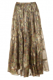 Mes Demoiselles |  Silk skirt Camelia | multi  | Picture 1