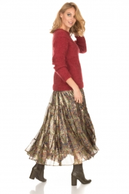 Mes Demoiselles |  Silk skirt Camelia | multi  | Picture 5