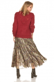 Mes Demoiselles |  Silk skirt Camelia | multi  | Picture 6