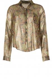 Mes Demoiselles | Zijden blouse Cerisier | multi  | Afbeelding 1