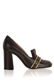 L'Autre Chose |  Leather pump Adaline | black   | Picture 1
