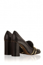 L'Autre Chose |  Leather pump Adaline | black   | Picture 4