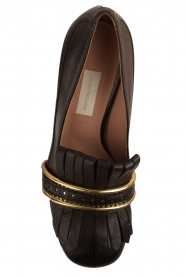L'Autre Chose |  Leather pump Adaline | black   | Picture 5