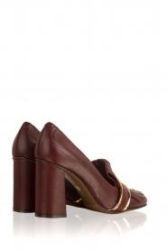 L'Autre Chose |  Leather pump Adaline | bordeaux  | Picture 4