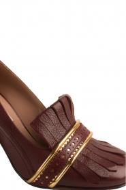 L'Autre Chose |  Leather pump Adaline | bordeaux  | Picture 6