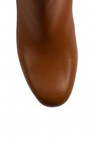 L'Autre Chose | Leren over-the-knee laars Noor | bruin  | Afbeelding 5