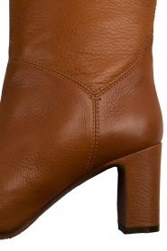 L'Autre Chose | Leren over-the-knee laars Noor | bruin  | Afbeelding 7
