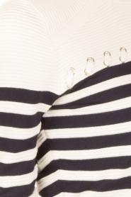 Aaiko | Strepentrui Sally | wit/blauw  | Afbeelding 6