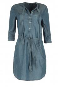 Aaiko | Denim jurk Brunelle | blauw  | Afbeelding 1