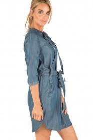 Aaiko | Denim jurk Brunelle | blauw  | Afbeelding 4