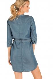 Aaiko | Denim jurk Brunelle | blauw  | Afbeelding 5
