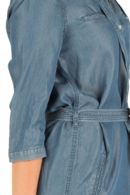 Aaiko | Denim jurk Brunelle | blauw  | Afbeelding 6