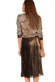 Aaiko | Dierenprint blouse Adora | bruin  | Afbeelding 5