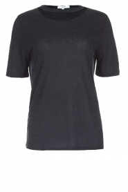 IRO | T-shirt Lassla | zwart  | Afbeelding 1