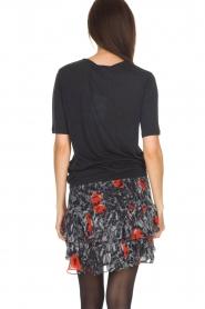 IRO | T-shirt Lassla | zwart  | Afbeelding 5