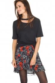 IRO | T-shirt Lassla | zwart  | Afbeelding 2