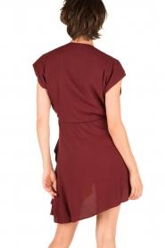 IRO |  Dress Tralor | bordeaux  | Picture 5