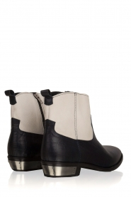 Catarina Martins |  Leather ankle boots Boca | blue  | Picture 4