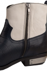 Catarina Martins |  Leather ankle boots Boca | blue  | Picture 7