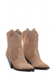 Toral |  Suede ankle boots Elisio | beige  | Picture 6