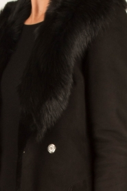 Arma | Lammy coat Olivet | zwart  | Afbeelding 8