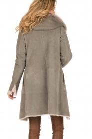 Arma | Lammy coat Olivet | grijs  | Afbeelding 5